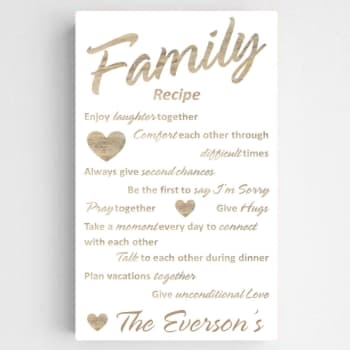 personalized canvas for your parents 50th anniversary