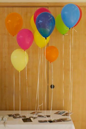 photos on balloons