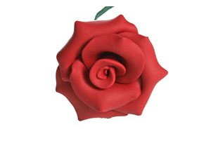 pottery rose