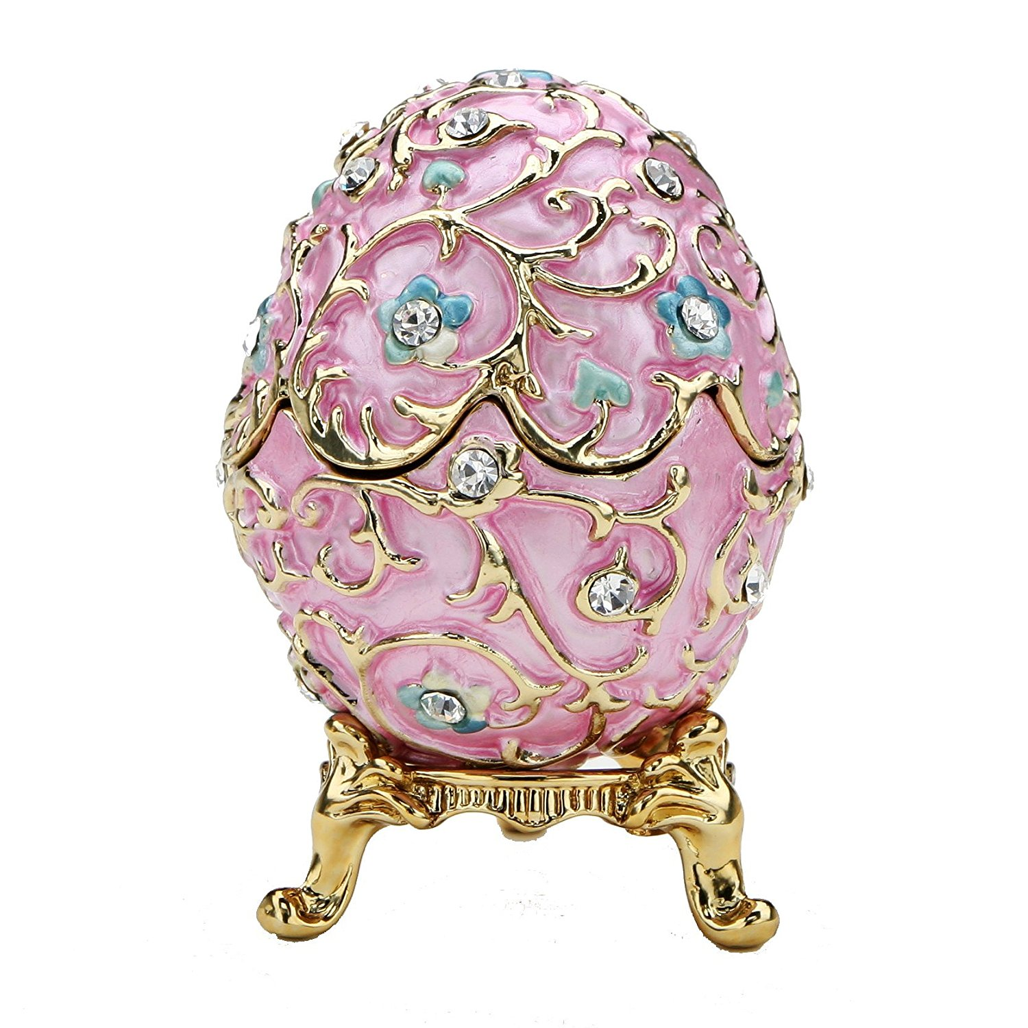 romantic easter egg - replica faberge egg