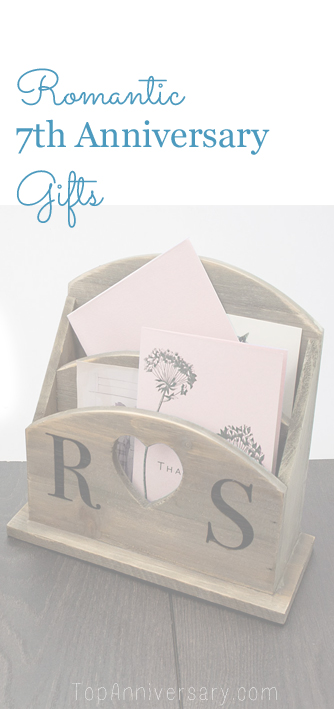 romantic 7th anniversary gift ideas