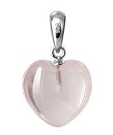5th Anniversary rose quartz