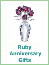 40th Wedding Anniversary Gift Ideas From TopAnniversary.com