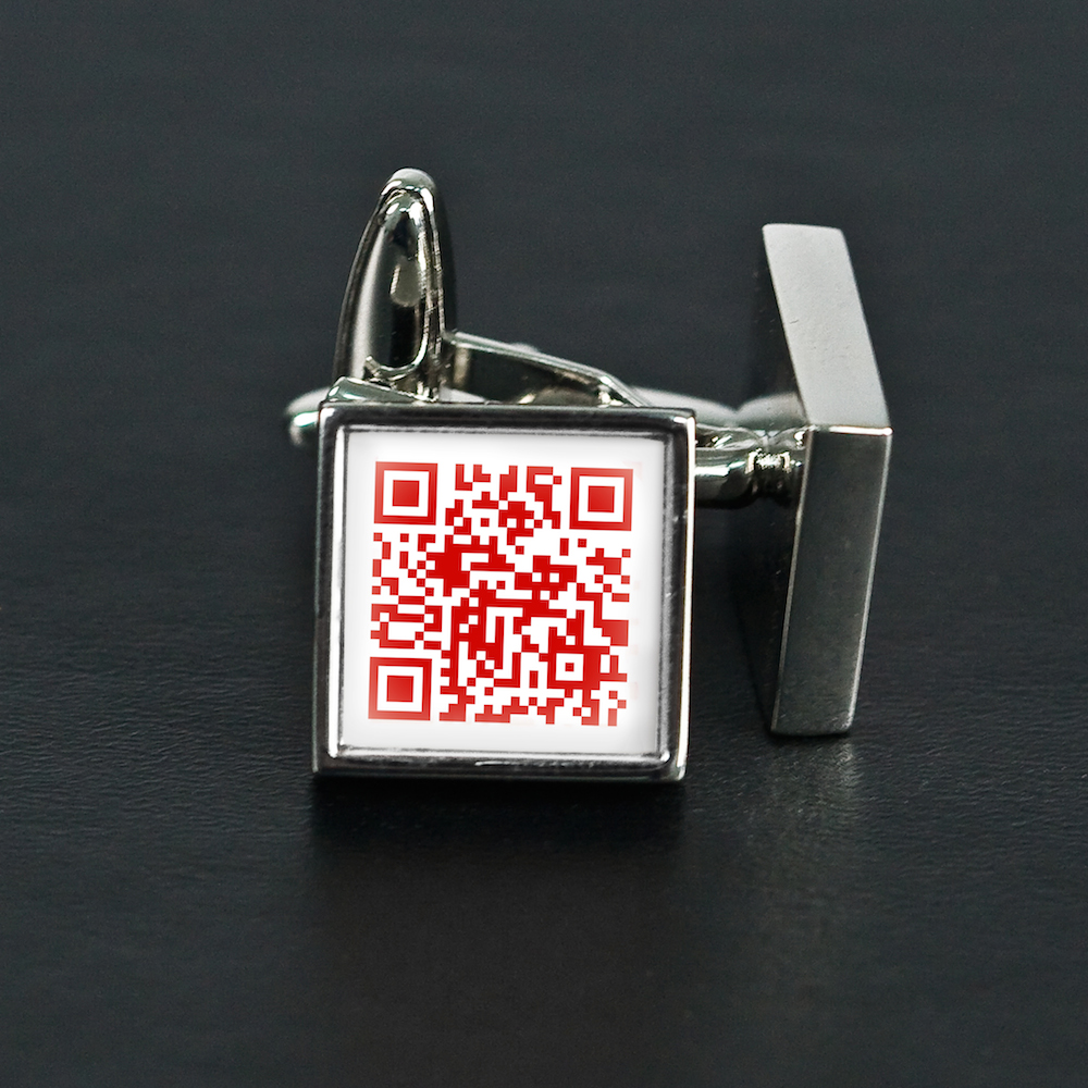 Secret Love Message Cufflinks