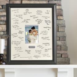 50th anniversary signature frame