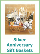 Gift Basket For 25th Wedding Anniversary : The Best 25th Wedding Anniversary Ideas