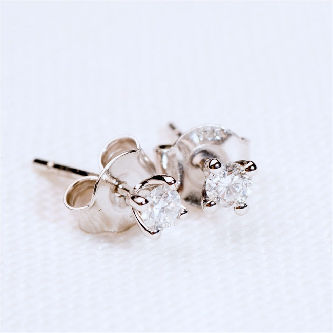 Anniversary Diamond Earrings
