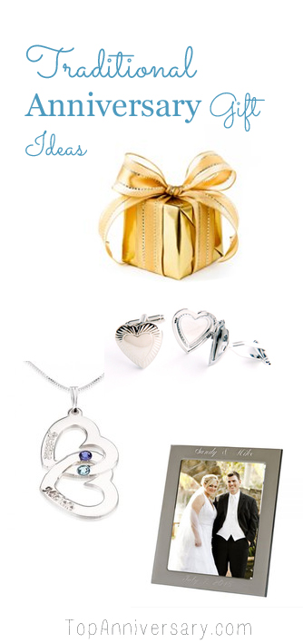 Traditional wedding anniversary gifts ideas by year for for Traditional 1st anniversary gifts for her