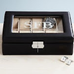 personalized 15th anniversary watch box