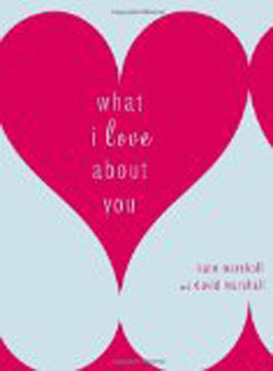 what I love about you 1st anniversary book