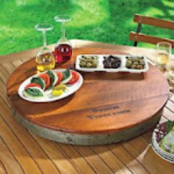 personalizd wine barrel
