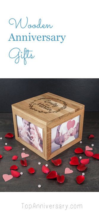 wooden anniversary gifts