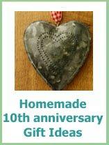 homemade 10th anniversary gifts