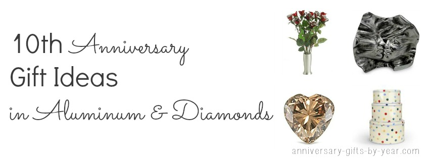 10 Wedding Anniversary Gift Ideas: Ten Year Wedding Anniversary Guide From Tin To Diamonds