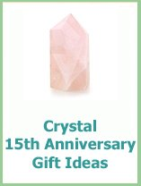 crystal annversary gifts