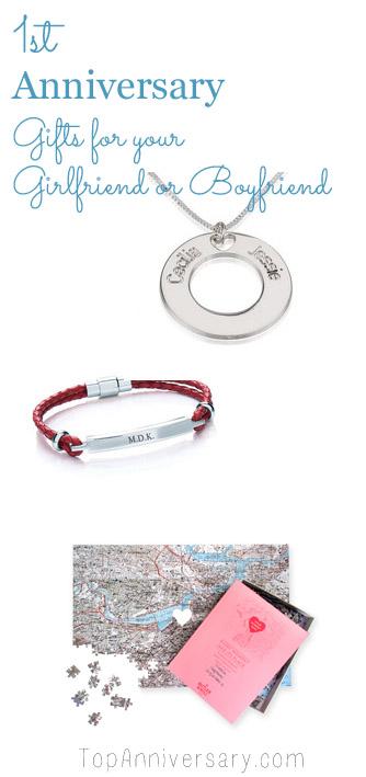 one year anniversary gift ideas for girlfriend or boyfriend