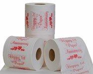 1st anniversary toilet paper