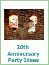 20th anniversary party ideas for parents