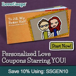 love coupon book for your 1st anniversary