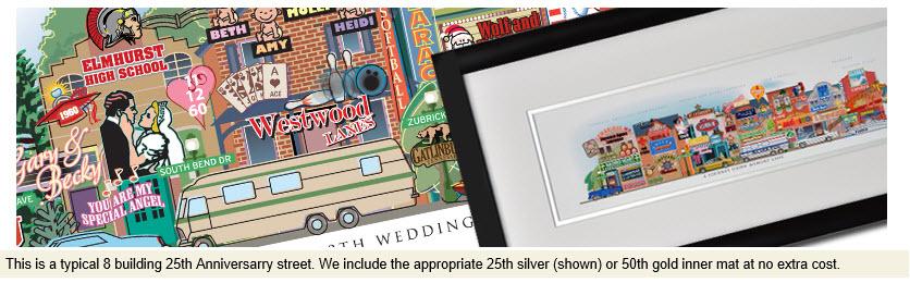 personalized anniversary art