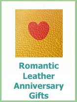 roomantic leather anniversary gifts