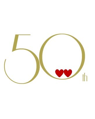 personalized 50th anniversary card