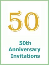 50thanniversary invitations