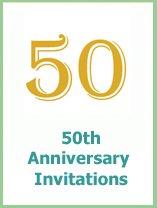 50thanniversary invitations