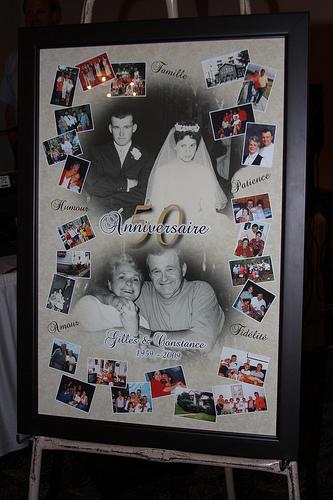 50th anniversary collage