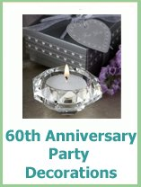 60th anniversary party decorations