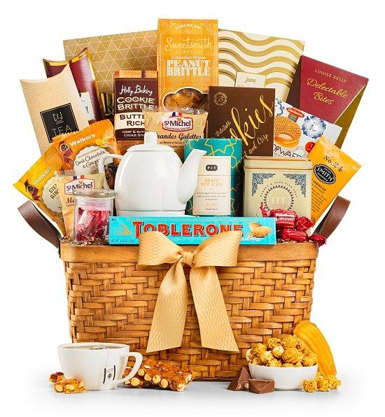 Tea Anniversary gift basket