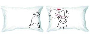 fun couple pillows