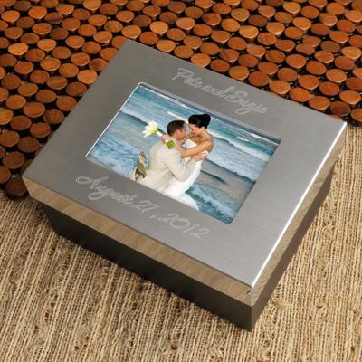 engraved memory box