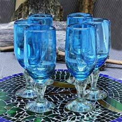 aquamarine glasses