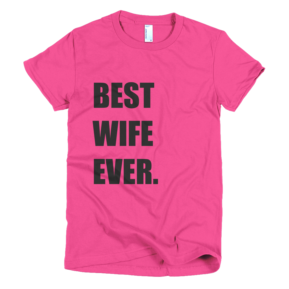anniversary gift while deployed - best wife ever t shirt