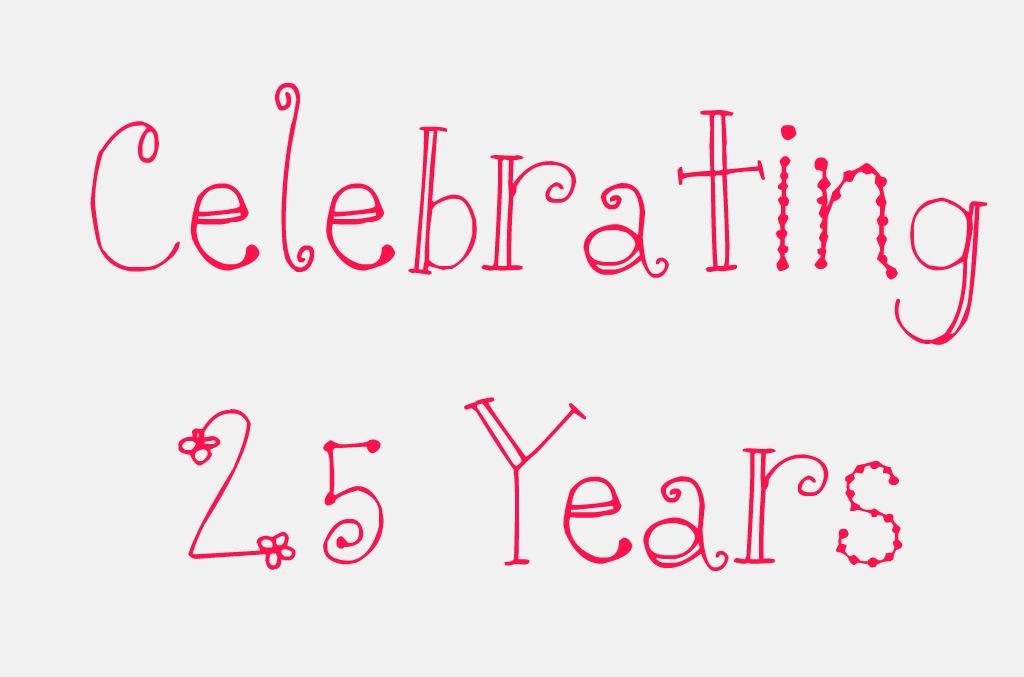 celebrating 25 years invitation