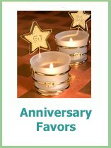 wedding anniversary favor