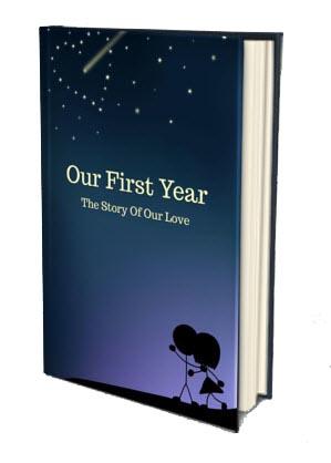 1st anniversary book