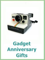 gadget and geek anniversary gifts for him