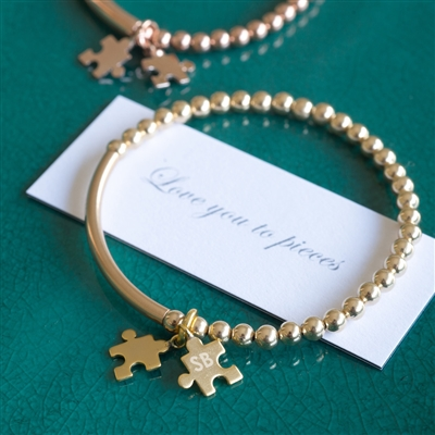 personalized love bracelet