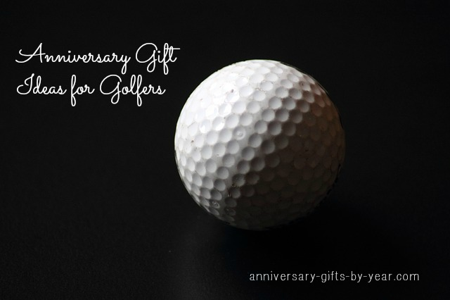 golf anniversary gifts