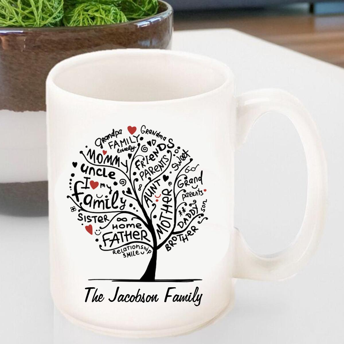 best family tree mug