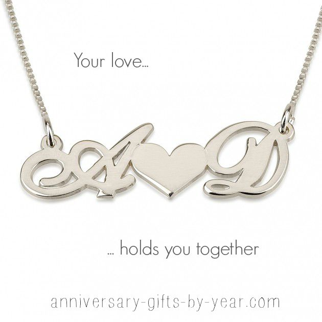Christmas gift for your wife - romantic, personalized jewelry