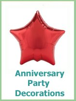 anniversary party decorations