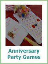 anniversary party games