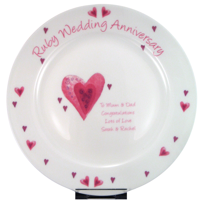 40th Anniversary Party Decorations  sc 1 st  Anniversary Gifts By Year & Fabulous 40th Wedding Anniversary Party Ideas