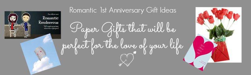 1st wedding anniversary gifts