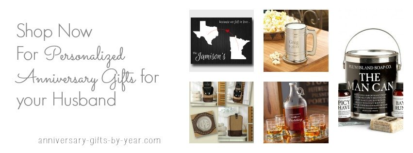 buy personalized anniversary gifts for husband