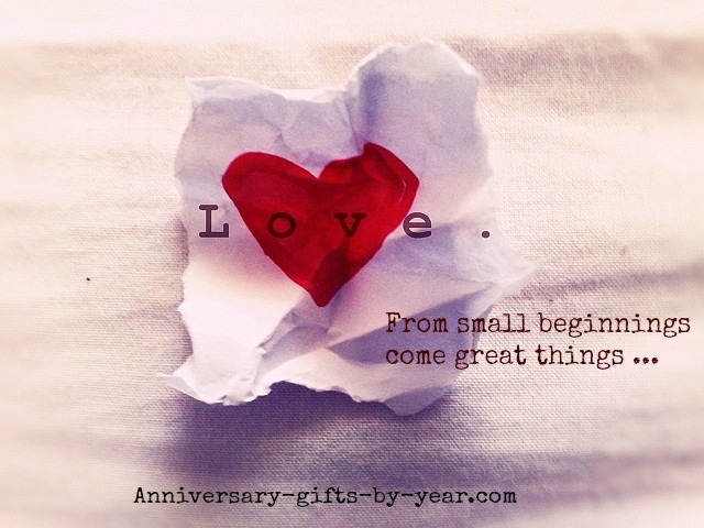 love quote for the beginning