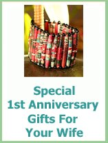 special 1st anniversary gifts for your wife